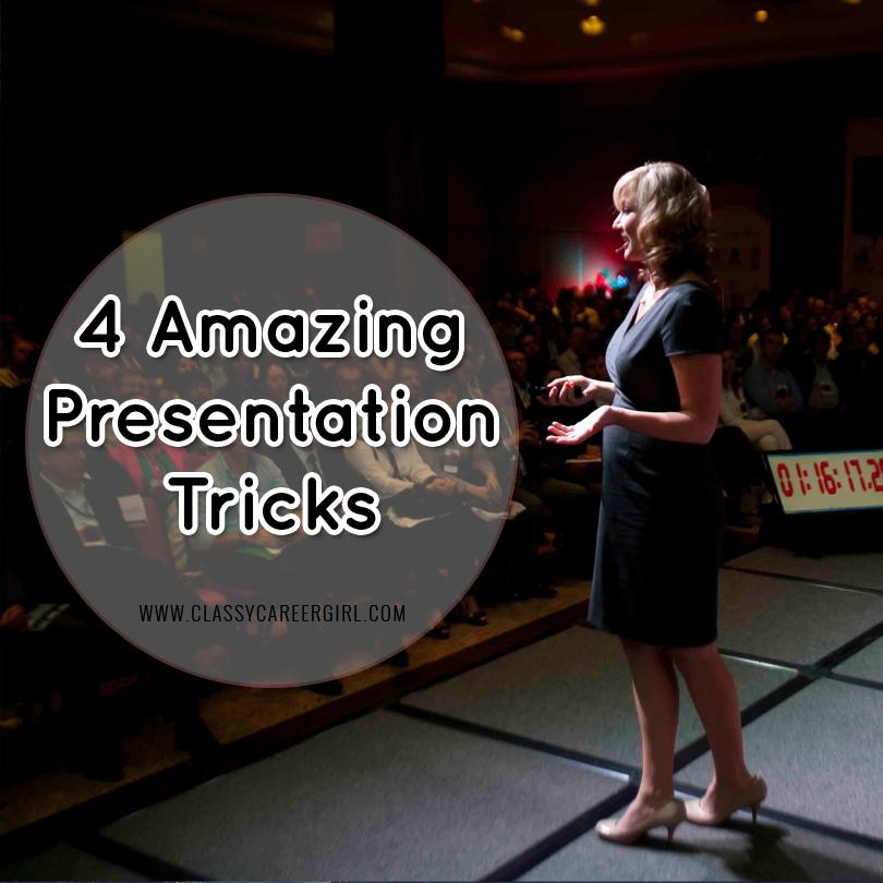 4 amazing presentation tricks job pinterest presentation