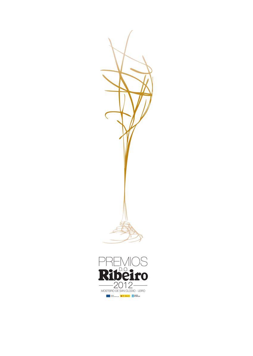 Un vino elegante, sutil y lleno de matices necesitaba una gráfica con su misma personalidad a la hora de entregar sus premios anuales.