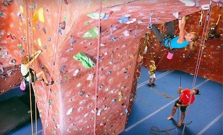 Stone Age Indoor Rock Climbing Gym Albuquerque New Mexico