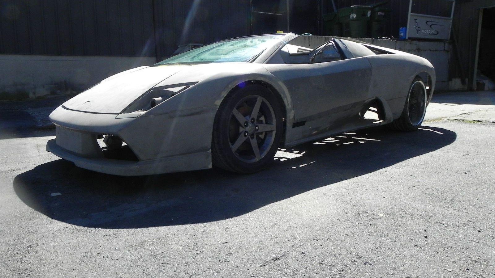 2005 Lamborghini Murcielago Roadster Kit Car Tube Frame BMW V12 ...