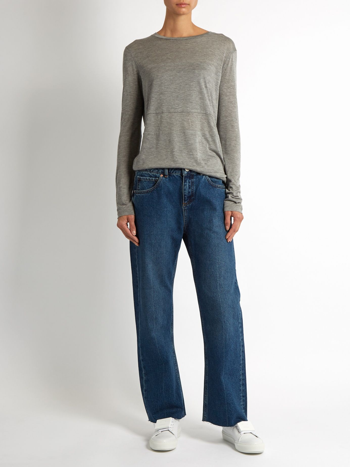 1ae233613 Click here to buy Raey Flood flared jeans at MATCHESFASHION.COM ...