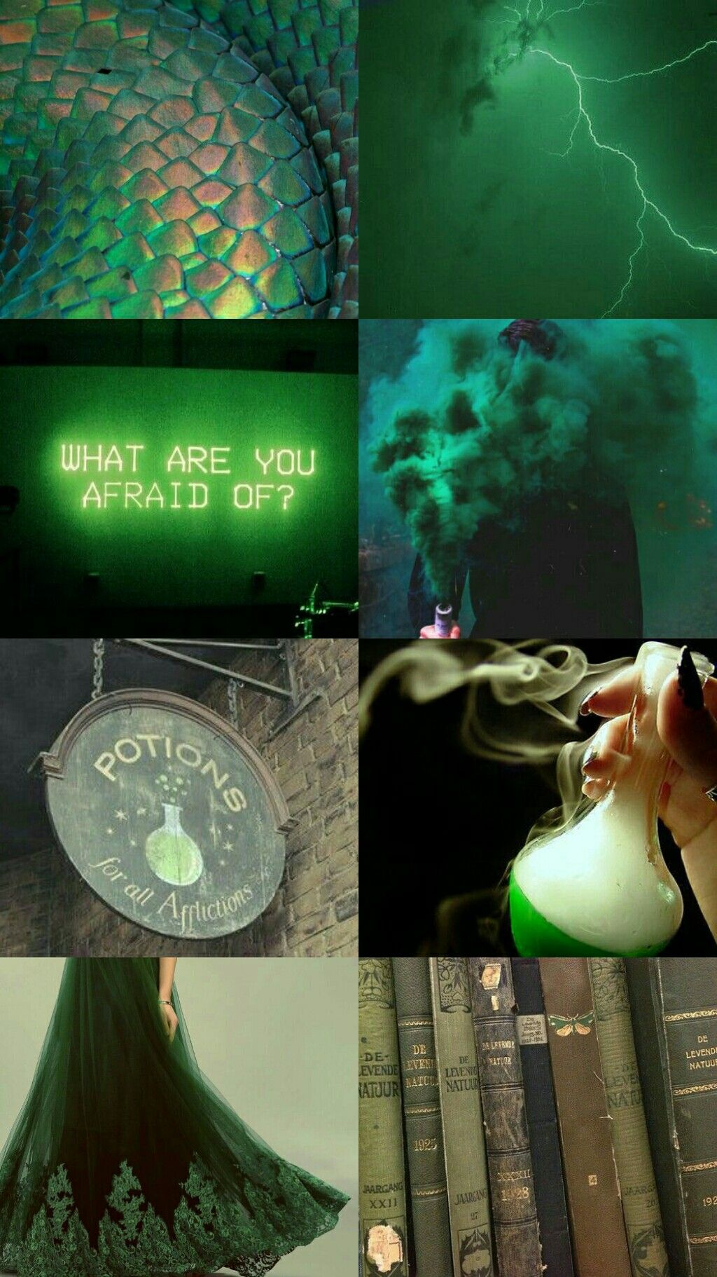 Slytherin aesthetics I'll be evil  I'll be bad  Why? You tell me I