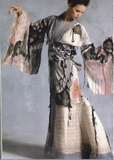 "Ben Compton Madame Butterfly, 1977 Silk, nylon ""horsehair""braid, lacquered mussel shells, cotton lace, silk brocade Stitched, pieced"