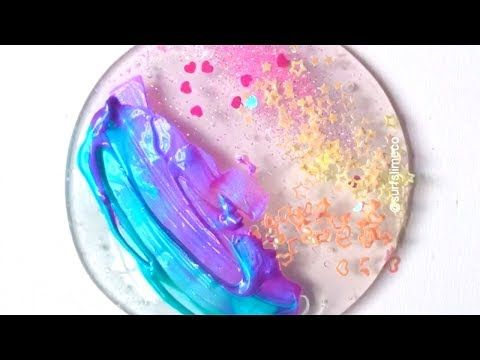 Clear slime coloring most satisfying slime asmr video youtube clear slime coloring most satisfying slime asmr video youtube ccuart Images