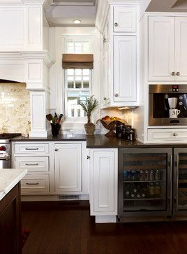 I Wish I Want A Drink Fridge Traditional Kitchen Home Kitchens Inset Cabinets