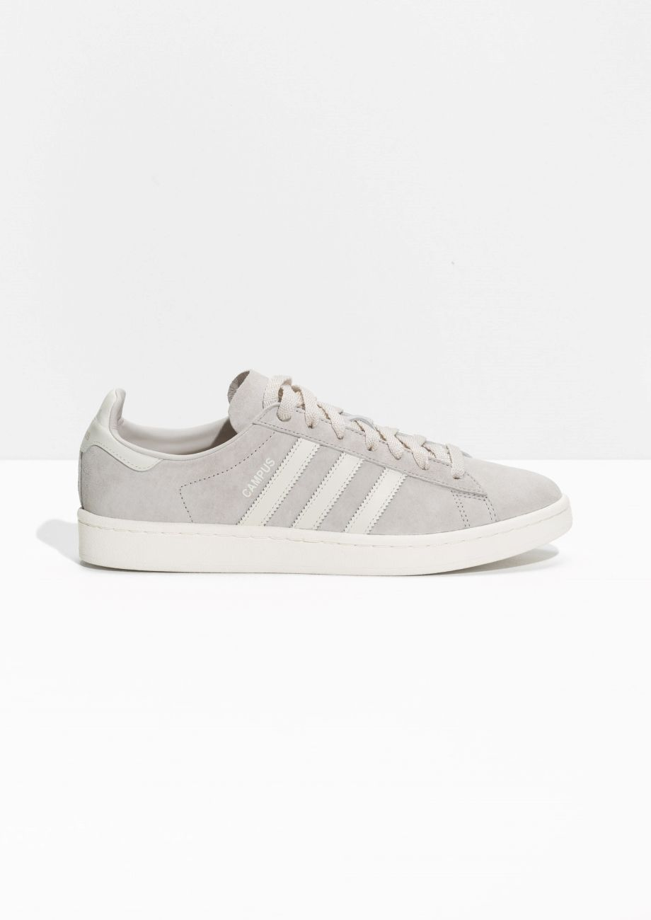 & Other Stories image 1 of adidas Campus in Grey | shoes