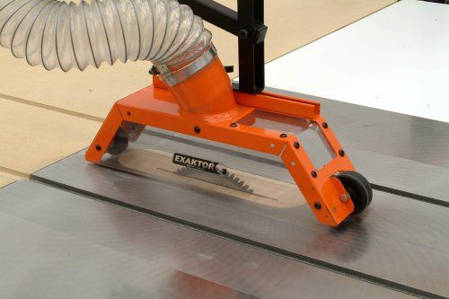 Exaktor Exoa 2 Table Saw Overarm Blade Cover And Dust Collector
