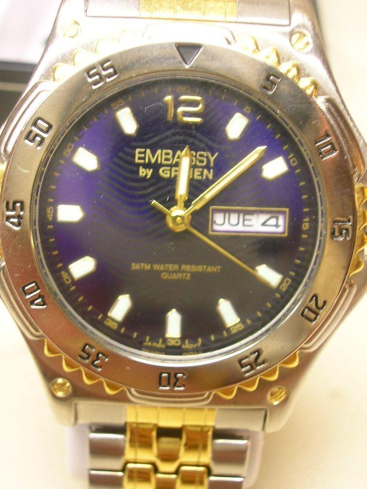 d8430a43d8dd0 Embassy by Gruen Men s Watch  Gruen  Casual