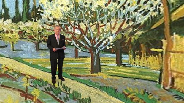 60 Minutes Van Gogh virtual tour paintings and letters
