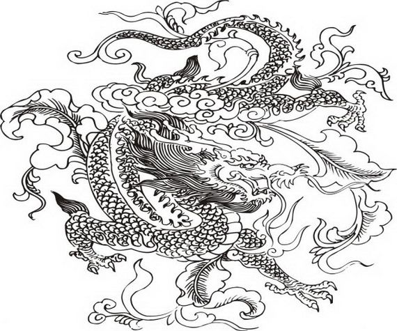 chinese dragon boat festival coloring pages - Dragon Coloring Pages For Adults