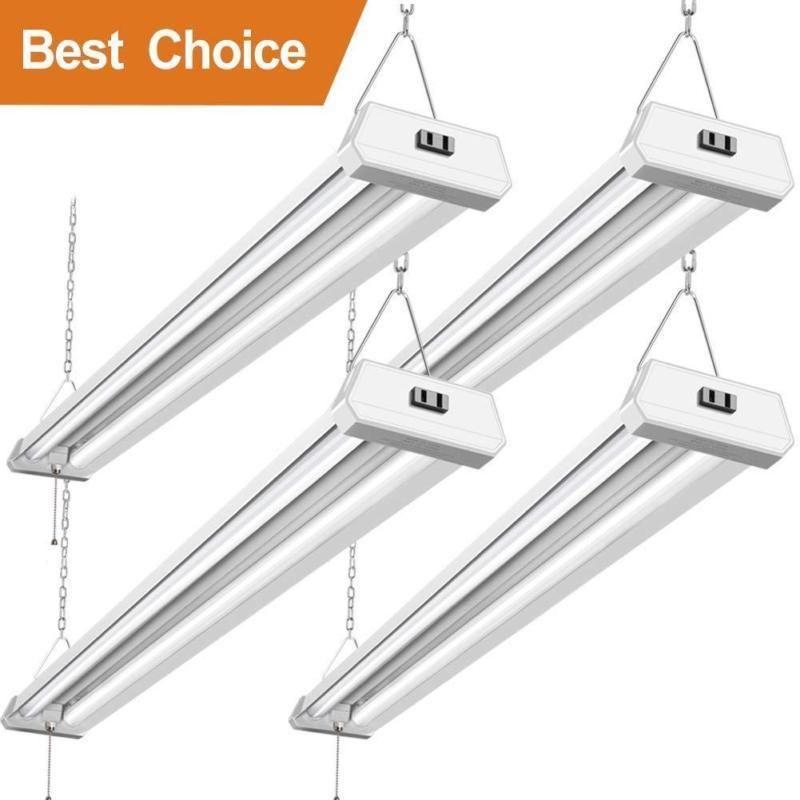 42w Linkable Led Shop Light For Garage Bbounder 4ft 5000k Daylight