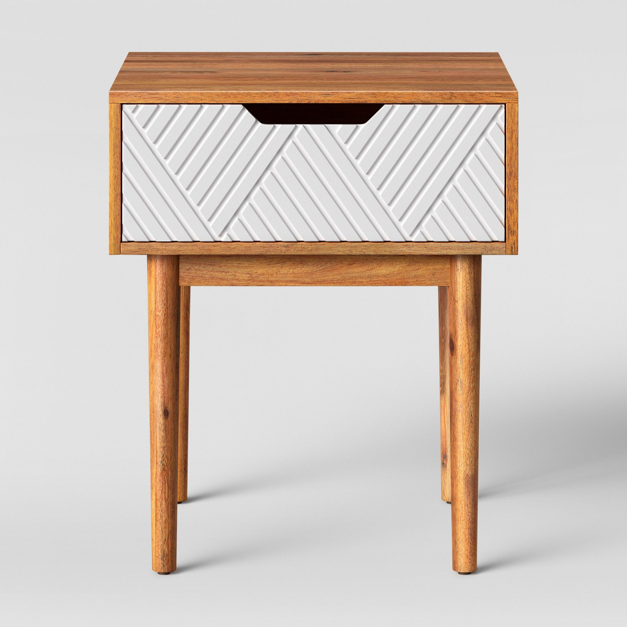Touraco accent table brown white opalhouse