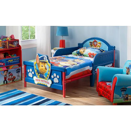 Nick Jr. Paw Patrol 3D Toddler Bed | House | Pinterest | Toddler ...