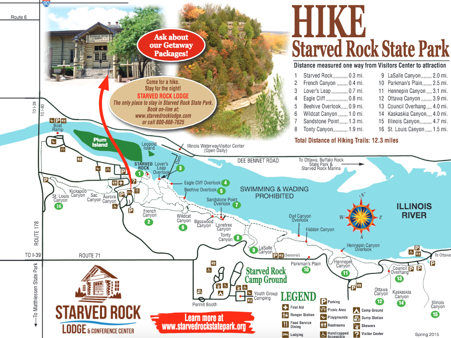 Starved Rock State Park Hiking Map in 2019 | Starved rock ... on illinois state stone, illinois pyramid state park map, illinois state parks waterfalls, wallace falls hike map, streator il map, starved rock canyon map, illinois giant city state park map, illinois and michigan canal, starved rock hiking map, la salle county il road map, illinois beach state park winter, illinois wolf creek state park map, illinois river, illinois coal mine maps, salt creek wa trail map, starved rock illinois state trail map, starved rock parking lot map, illinois chain o'lakes state park map, rock river wisconsin map,