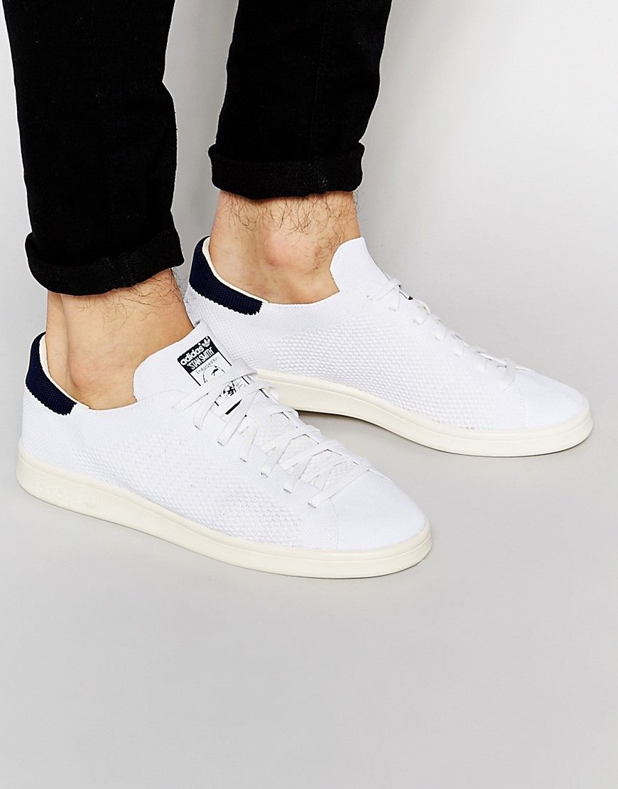 best sale crazy price catch Image 1 of adidas Originals Stan Smith Primeknit Trainers ...