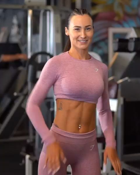Abs on fire! Engage your core for this one and feel the benefits! Lisa demonstra... -  - #ABS #benef...