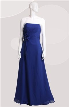 Sleeveless A-line Strapless Floor-length #Prom #Dress Style Code: 06629 $89