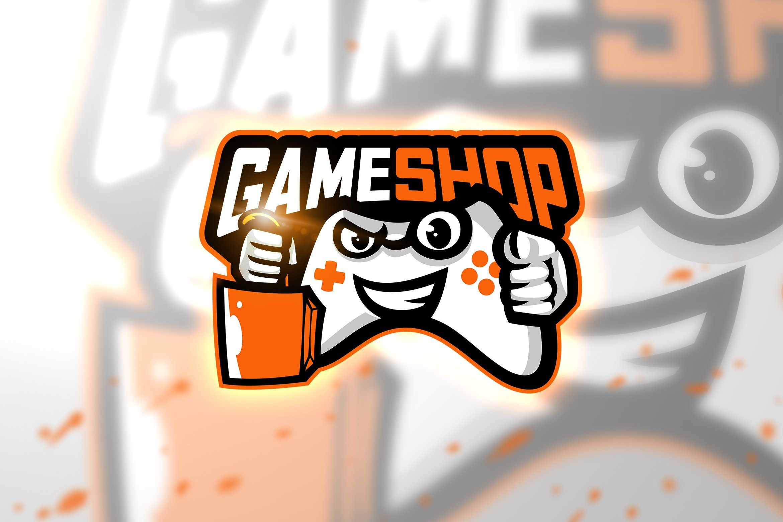 Game shop Mascot & Esport Logo in 2020 Logos, Graphic