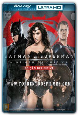Batman Vs Superman – Versão Estendida (2016) Torrent – BluRay Ultra HD 720p | 1080p Dual Áudio 5.1