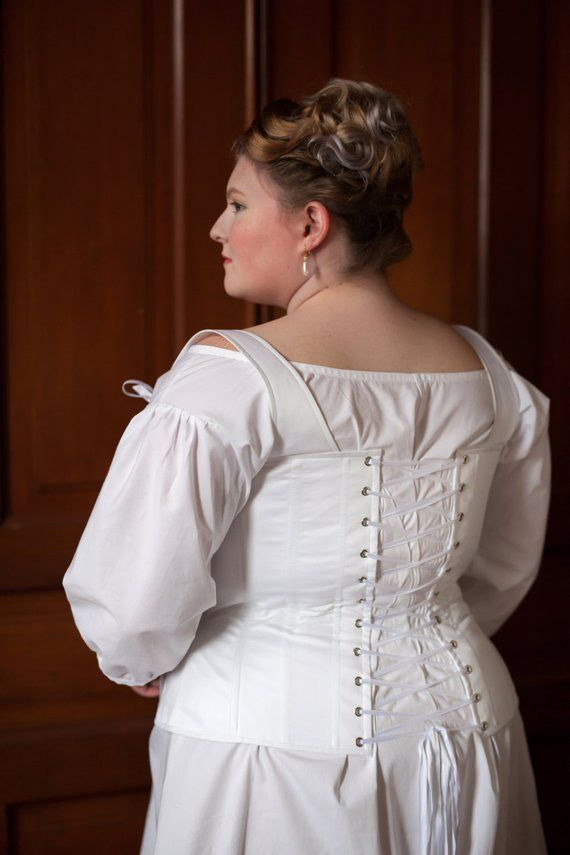 3f35826f74 Plus Size Regency Corset in your custom size