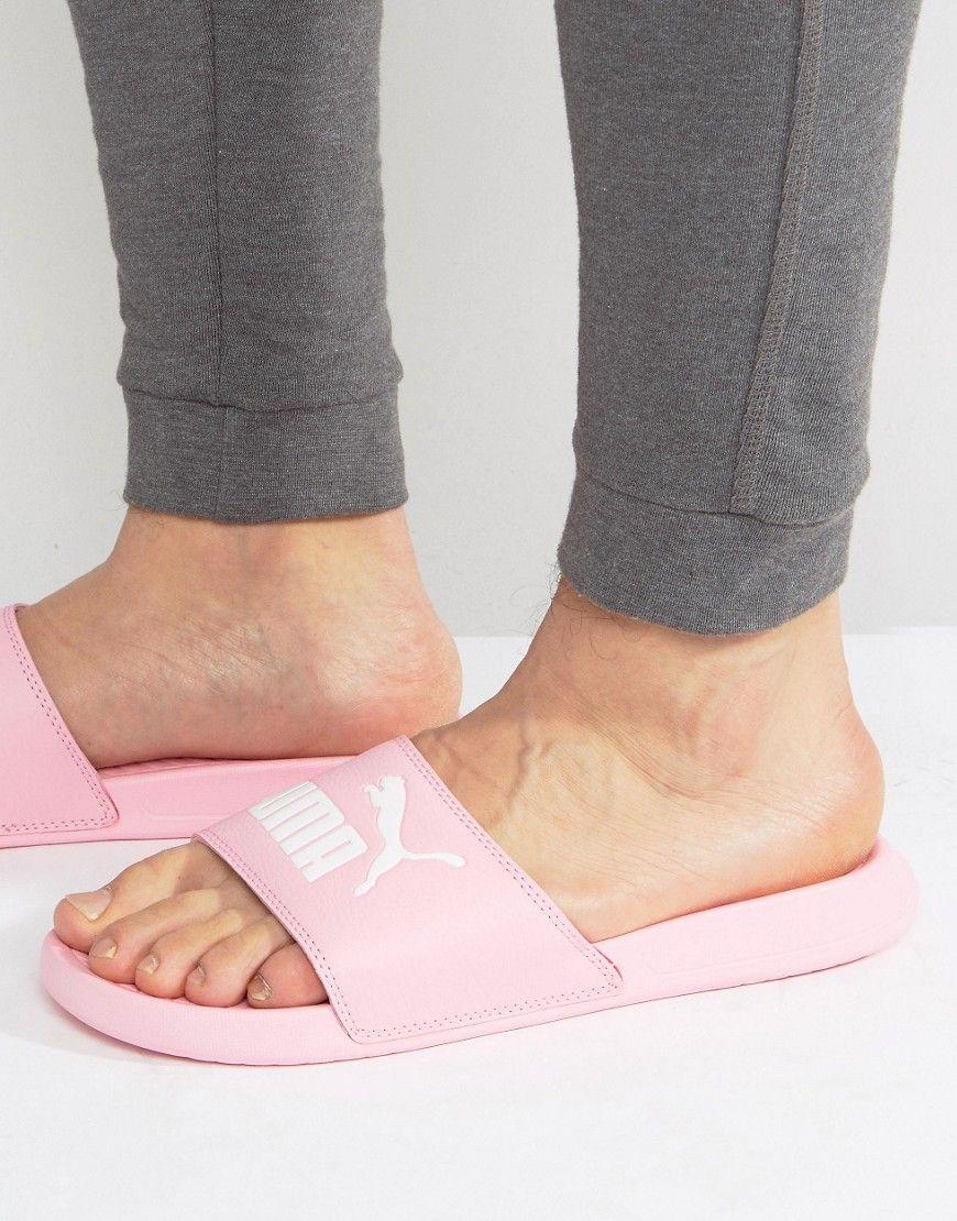 1503c28ae36c PUMA POPCAT SLIDERS IN PINK 36026516 - PINK.  puma  shoes