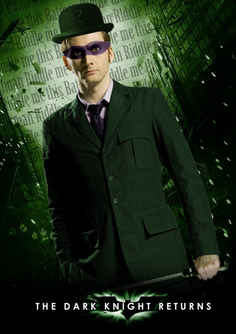 David Tennant is The Riddler by evansT David tennant