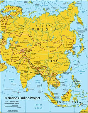 Geography Map Of Asia.Maps Of The World Political Montessori Resources Pinterest