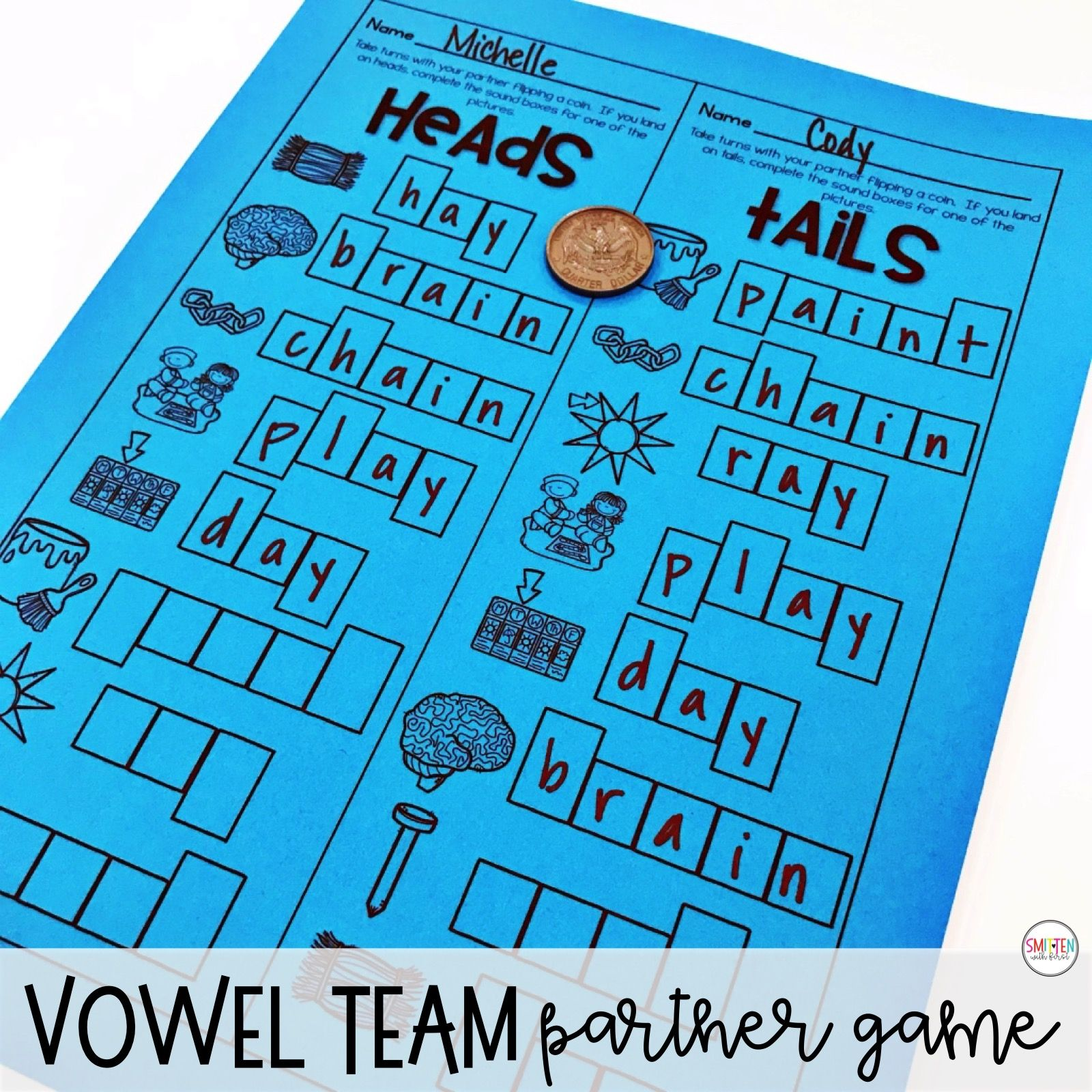 Long A Vowel Teams Ai Ay Phonics Activities And Games In