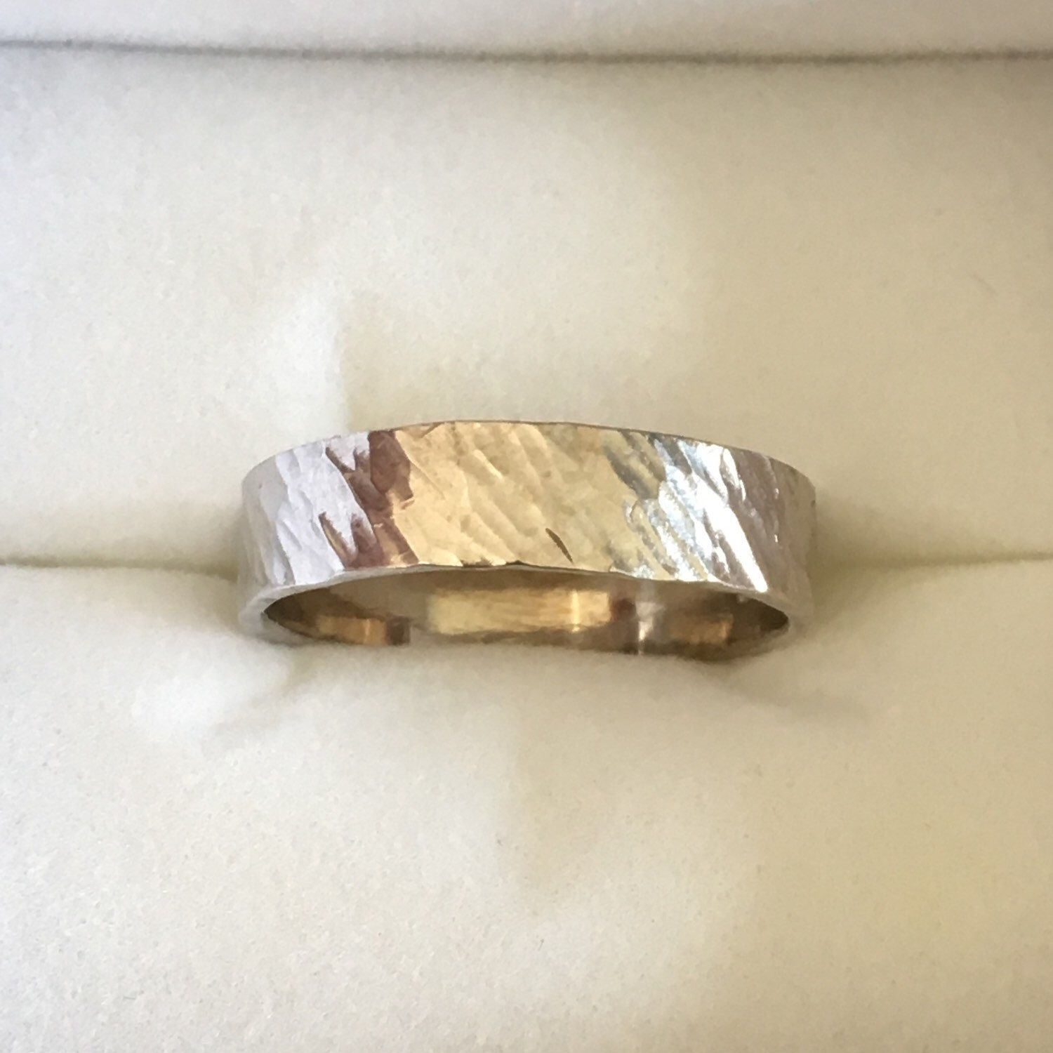 bark silver ring band   barking fc, roots and silver ring