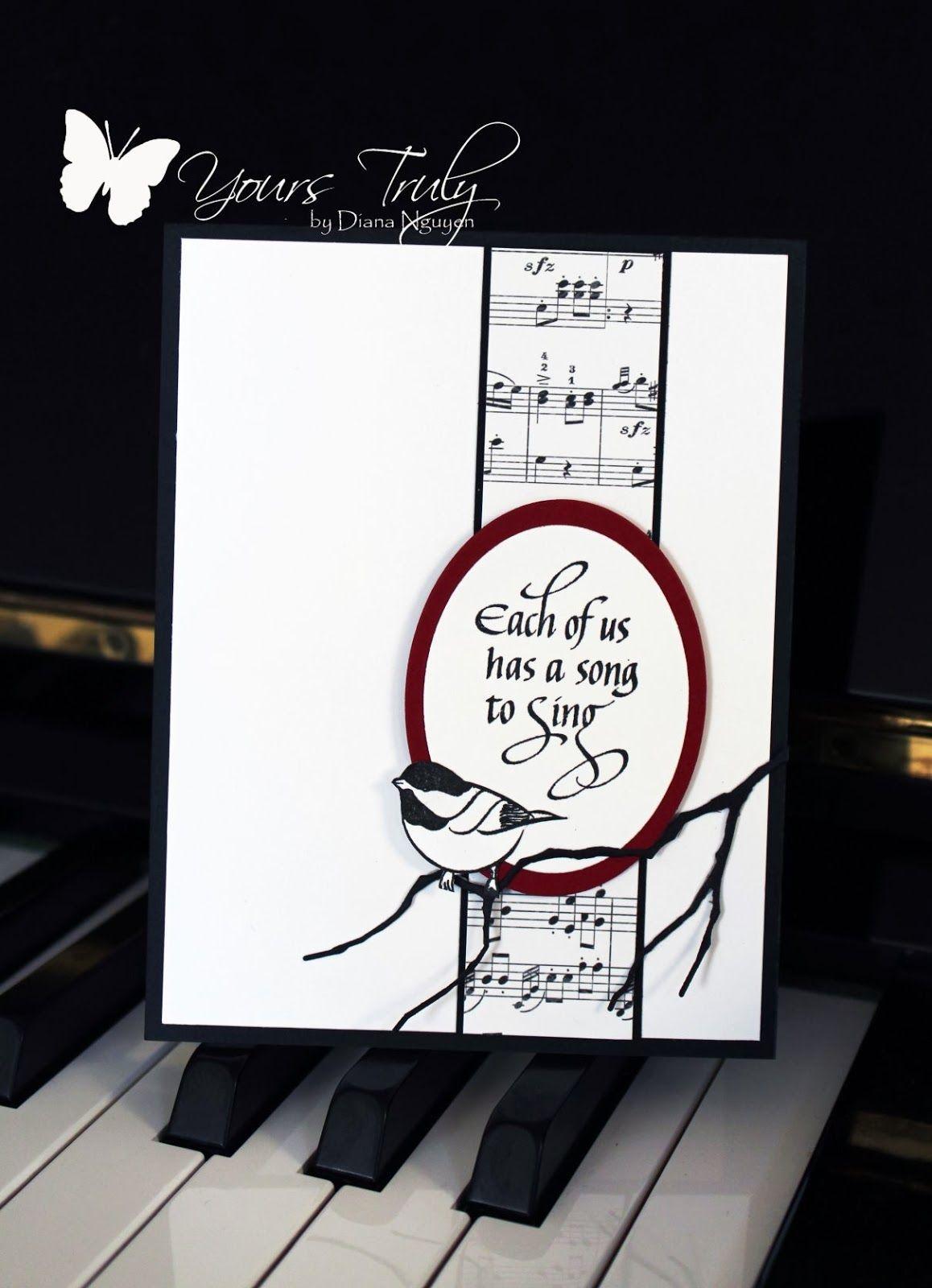 A Song To Sing Carte Carte Postale Carte Anniversaire