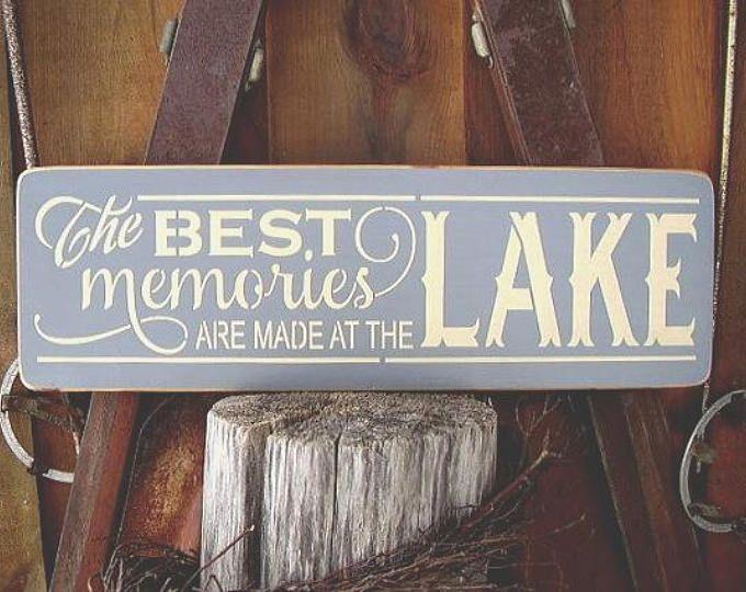 Lake House Sign Lake House Gift Lake House Decor Nautical Sign Fascinating Lake Signs Wall Decor