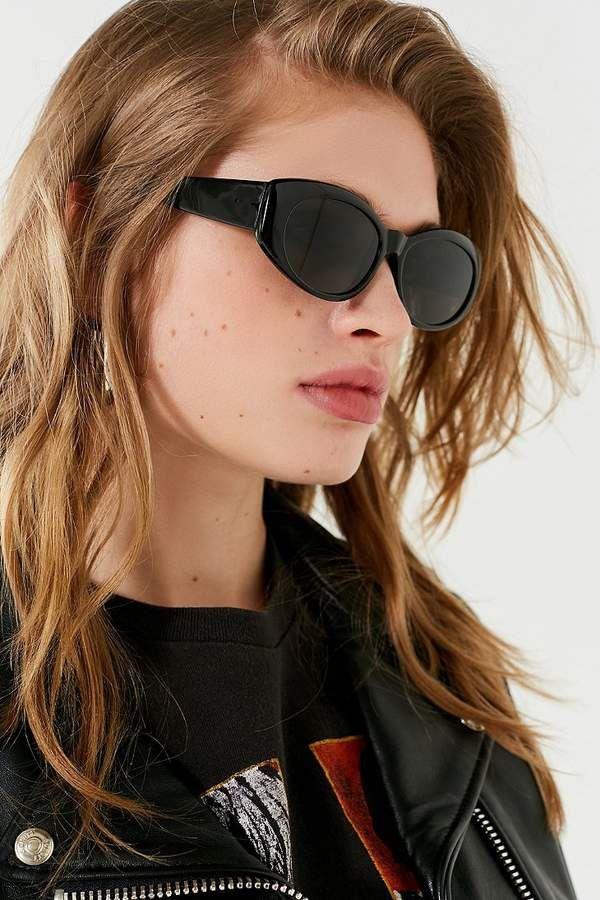 c275c1d0e5e Urban Outfitters Parkie Slim Oval Sunglasses