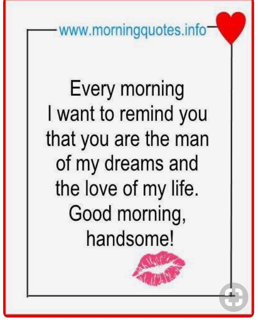 Good Morning Love Meme For Him