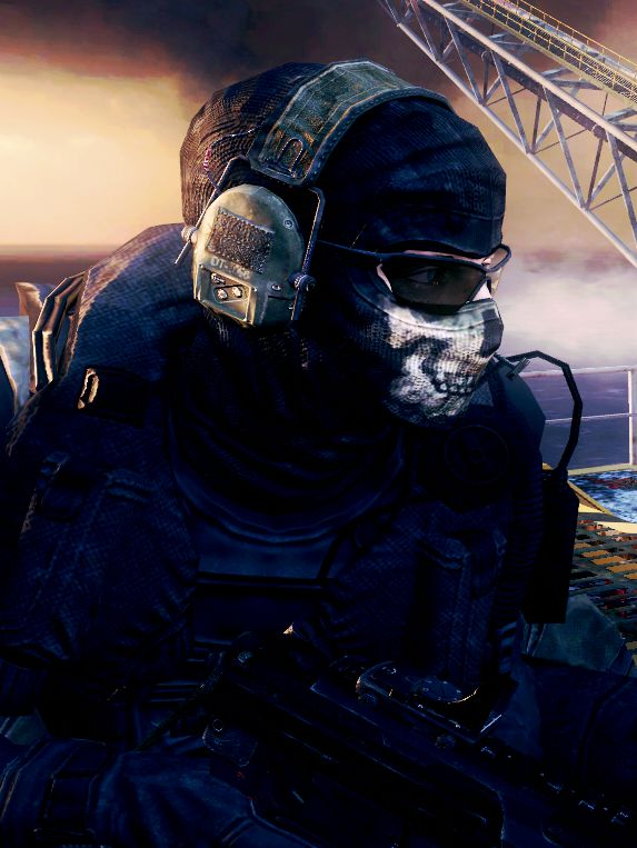 Simon Riley Aka Ghost With Images Call Of Duty Ghosts Ghost