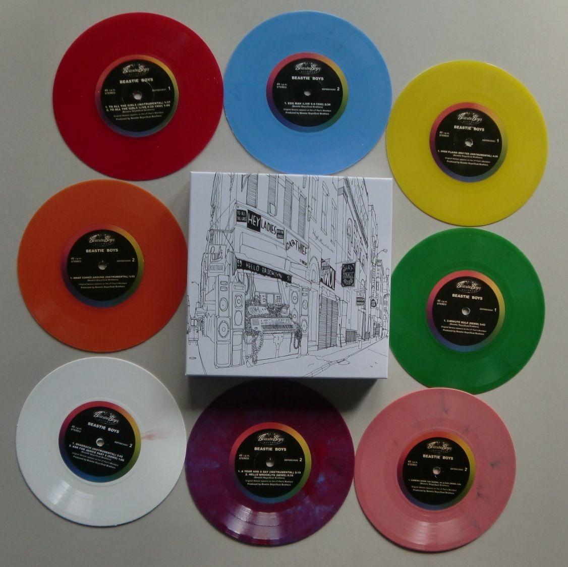 Beastie Boys Paul S Boutique 7 Boxset Vinyl Record Shop Beastie Boys Paul S Boutique