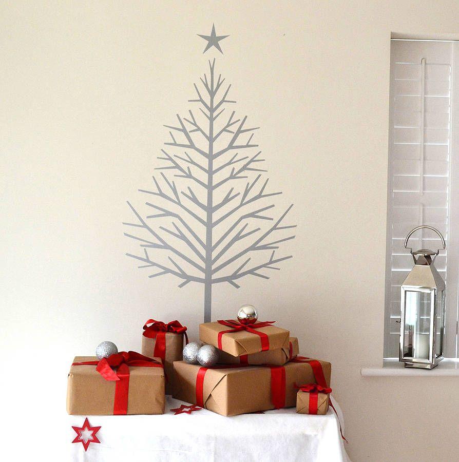 Superb Fir Tree   Christmas Tree Wall Sticker By Leonora Hammond |  Notonthehighstreet.com