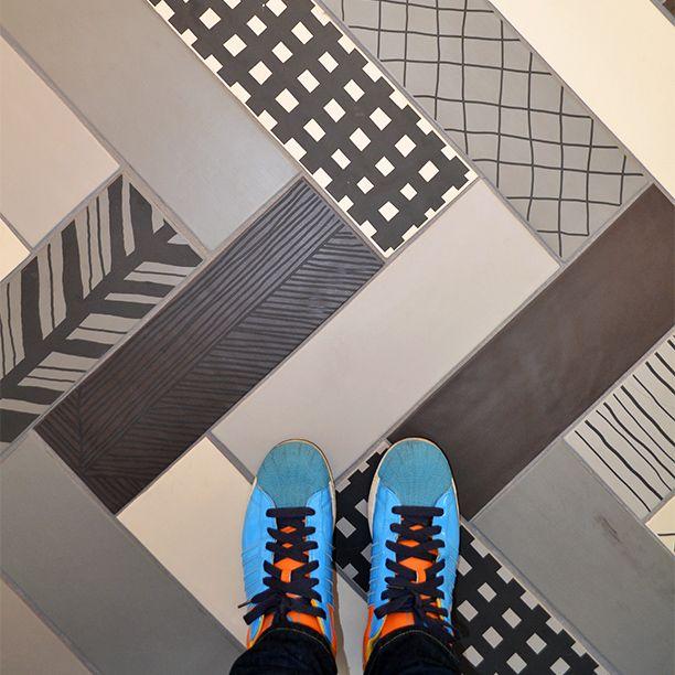#floorcore #floor #tile #ceramiclove #patterns #trend #trending #new #instagram #pinterest #creativity #inspiration #design #designers #interiordesign #interior #colours #colourful #shoes #porcelain #mixandmatch