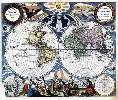 Ancient World Maps Th Century First Board Pinterest Th - 17th century world map