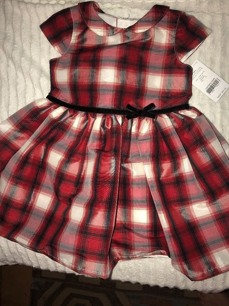 a0b02d553a0 Carters 18 Months Red   Black Plaid Dress-NEW  fashion  clothing  shoes   accessories  babytoddlerclothing  girlsclothingnewborn5t (ebay link)
