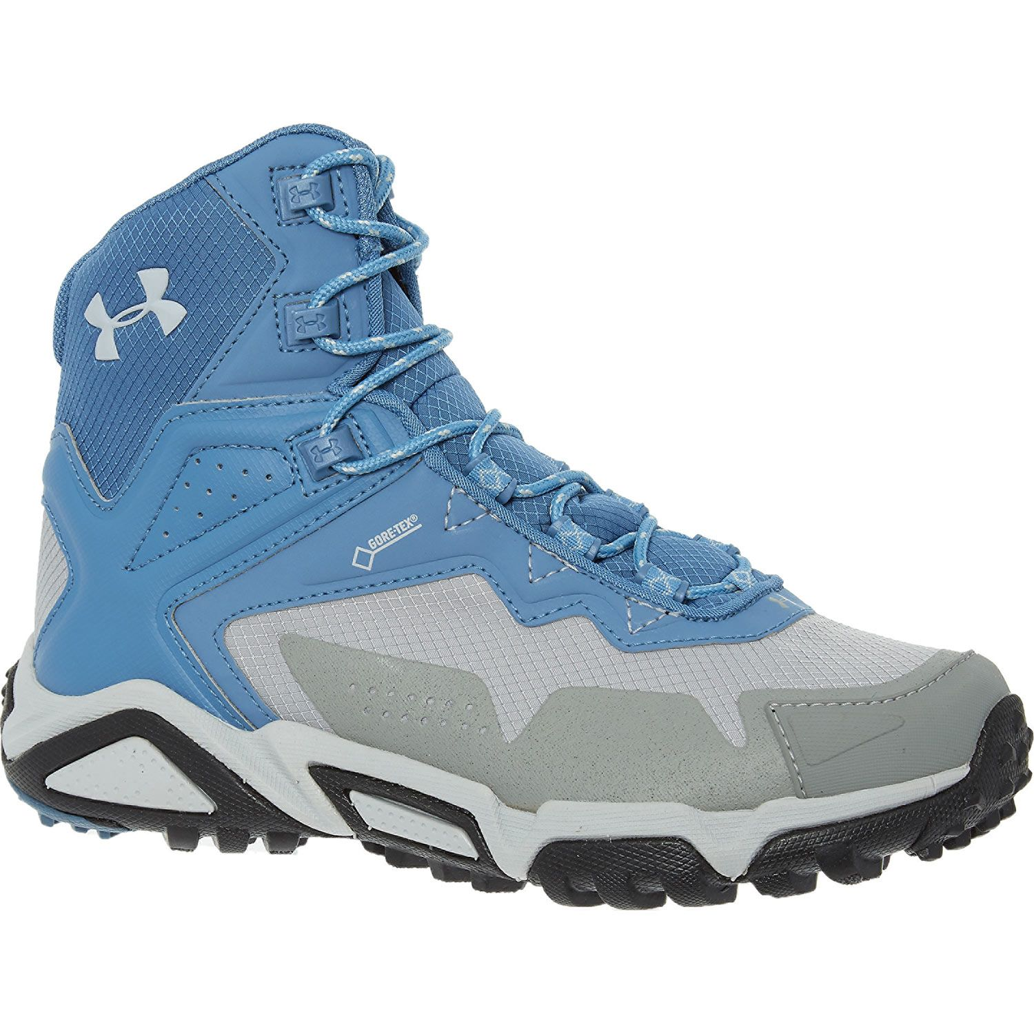 """""""Under Armour"""" Blue GoreTex Leather High Top Trainers"""