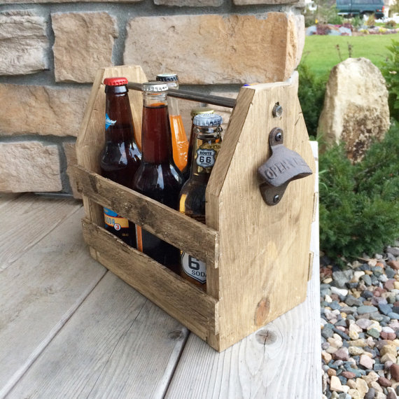 6 Pack Holder Beer Carrier Wood Beer Caddy Groomsmen Gifts Personalized Beer Caddy Personalized Beer Holder Beer Caddy Beer Wood Beer Caddy Beer Carrier