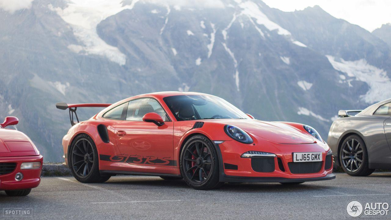 Porsche 991 GT3 RS 1 Porsche Pinterest