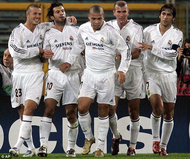 low priced 0985a 69538 Galacticos Part I  David Beckham, Luis Figo, Ronaldo, Zinedine Zidane and  Raul in 2004