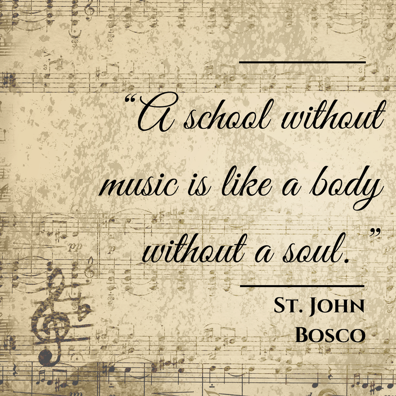 Sacred Music Studies for Home and Family | Saint quotes catholic, Saint  quotes, Traditional catholic