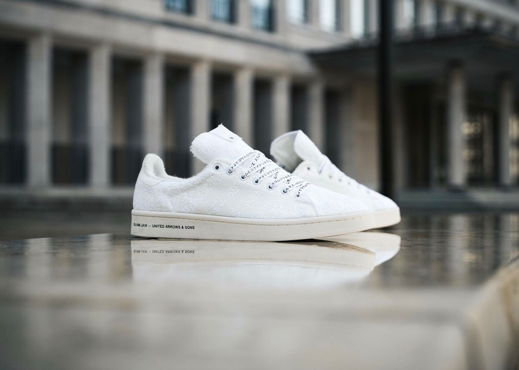 Slam JAM X United Arrows & Sons x Adidas Consortium Stan Smith