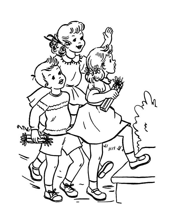 3 years, birthday coloring pages for kids, printables | coloing ... | 734x600