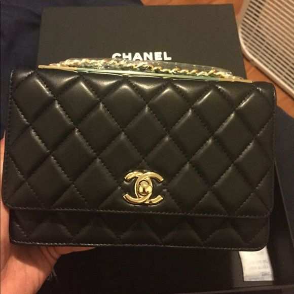 4b8064df7e82e2 Shop Women's CHANEL Black size OS Mini Bags at a discounted price at  Poshmark. Description: This is a gift from my uncle , but it not my style !