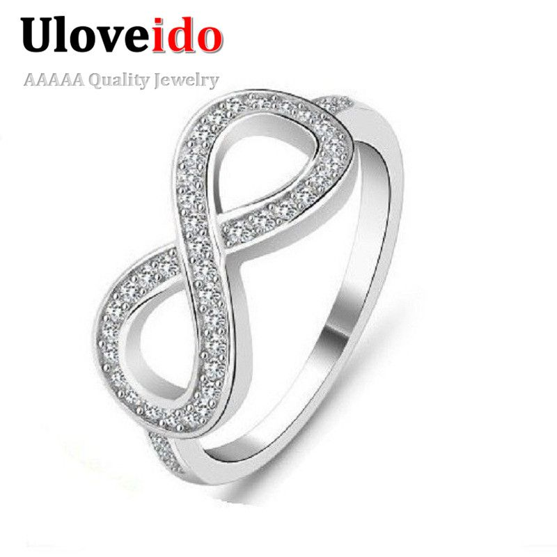 Find More Rings Information About 49 Off Joyas Vintage Unique Women Bague En Or Mariage Crystal Ring Silver Plated Cz Diamond Wedding Band