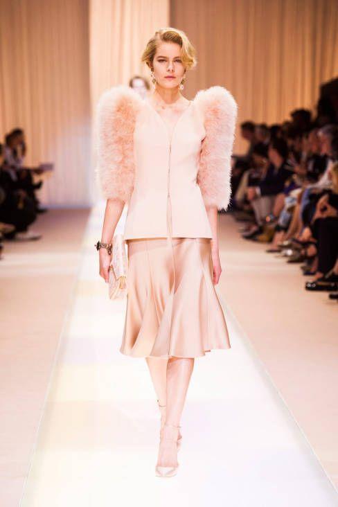 Giorgio Armani Fall 2013 Haute Couture Collection   Vestidos cortos ...