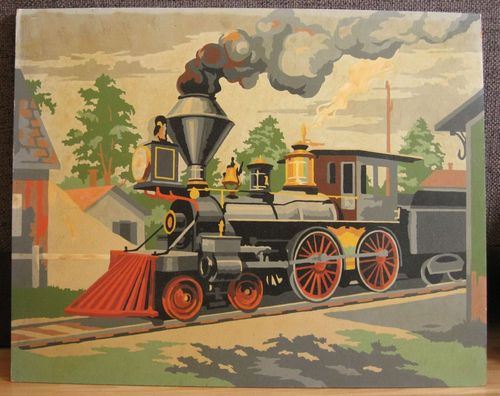 Vintage Paint by Number 3 Pictures | eBay